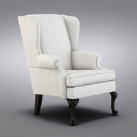 Pottery Barn - Gramercy Wingback Chair